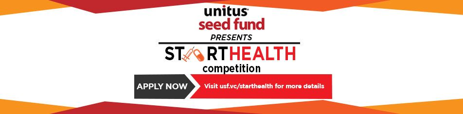 UNITUS SEED FUND LAUNCHES STARTHEALTH 4 COMPETITION