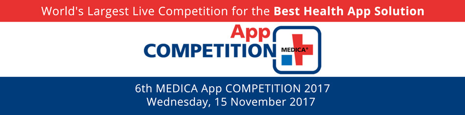 MEDICA App COMPETITION 2017
