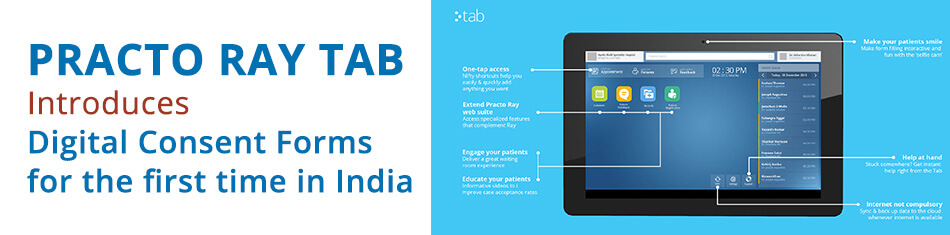 PRACTO INTRODUCED PRACTO RAY TAB