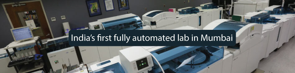 INDIA'S FIRST FULLY AUTOMATED LAB