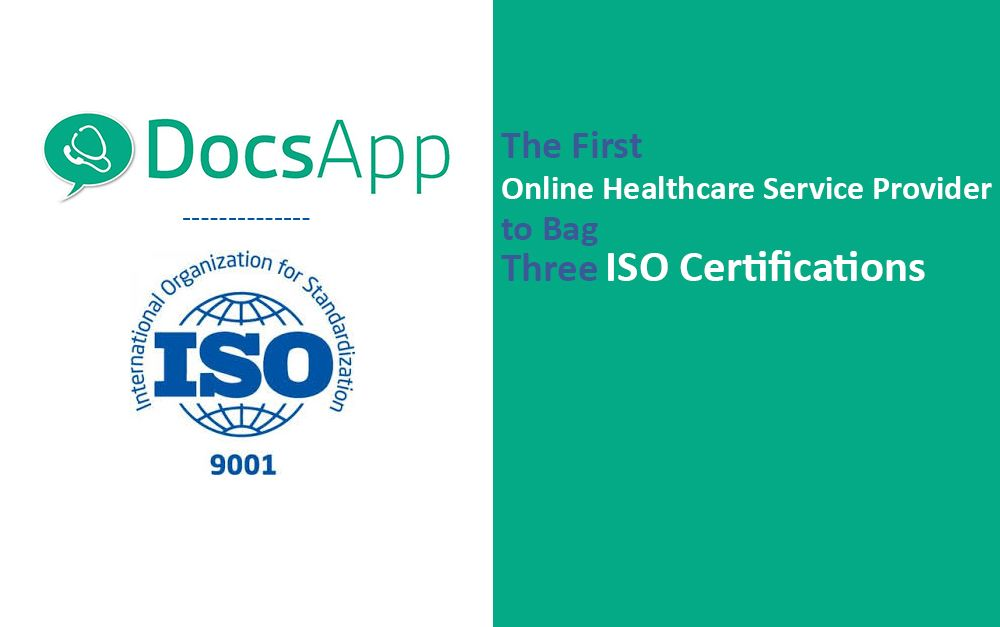 DocsApp RECEIVED ISO CERTIFICATIONS