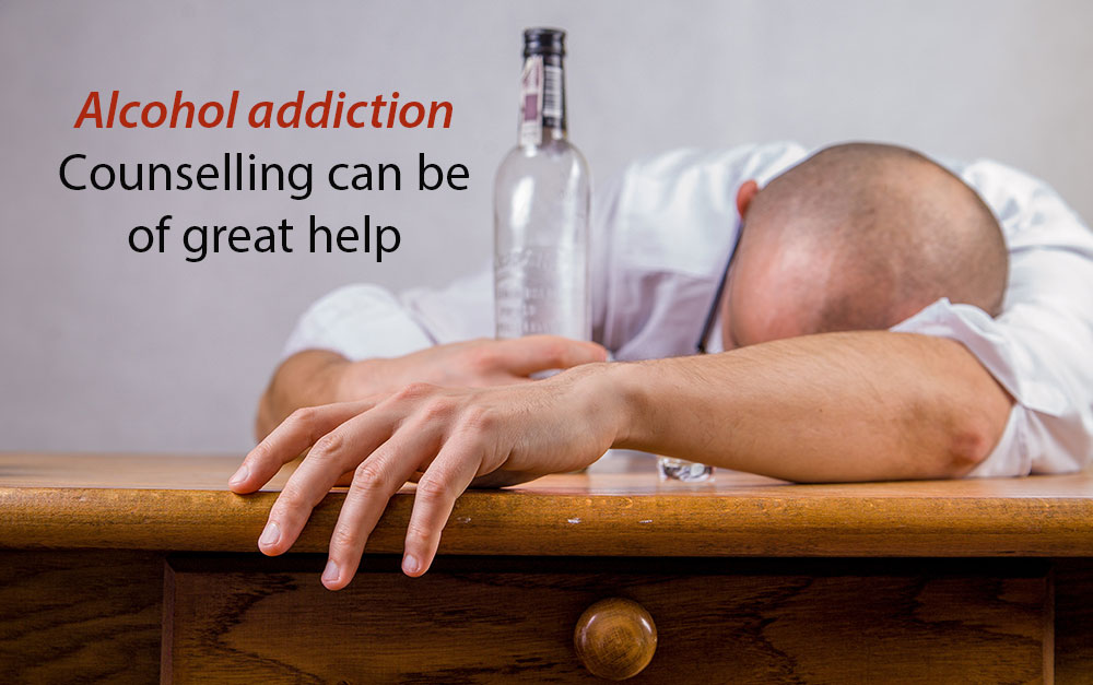 Alcohol addiction: Counselling can be of great help