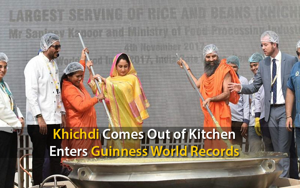 Khichdi Comes Out of Kitchen; Enters Guinness World Records