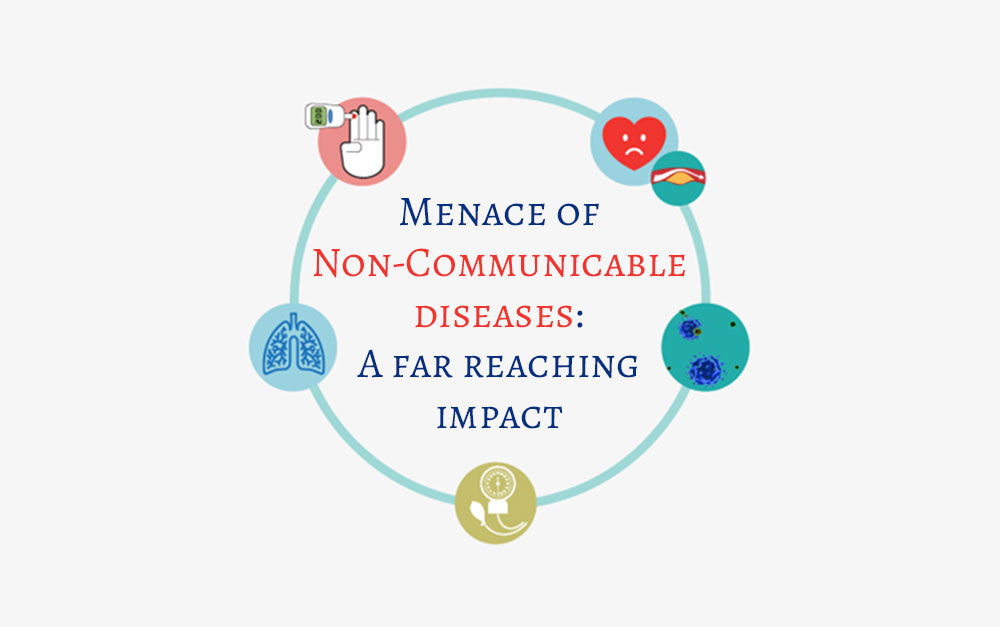 Menace of Non-Communicable diseases: A far reaching impact