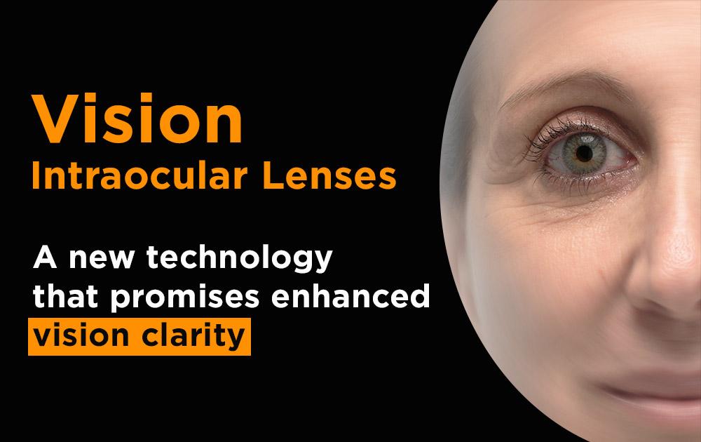 Extended range of vision intraocular lenses
