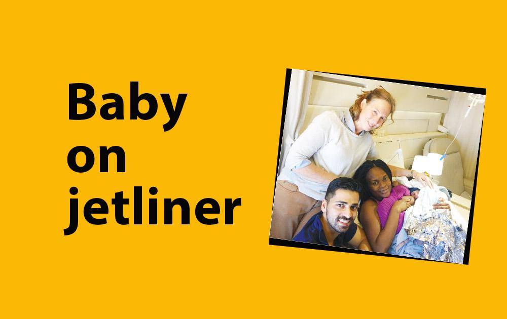 Passenger Gave Birth to a Baby on Jetliner