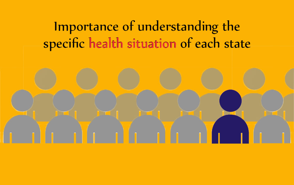 Specific health situation of Indian states