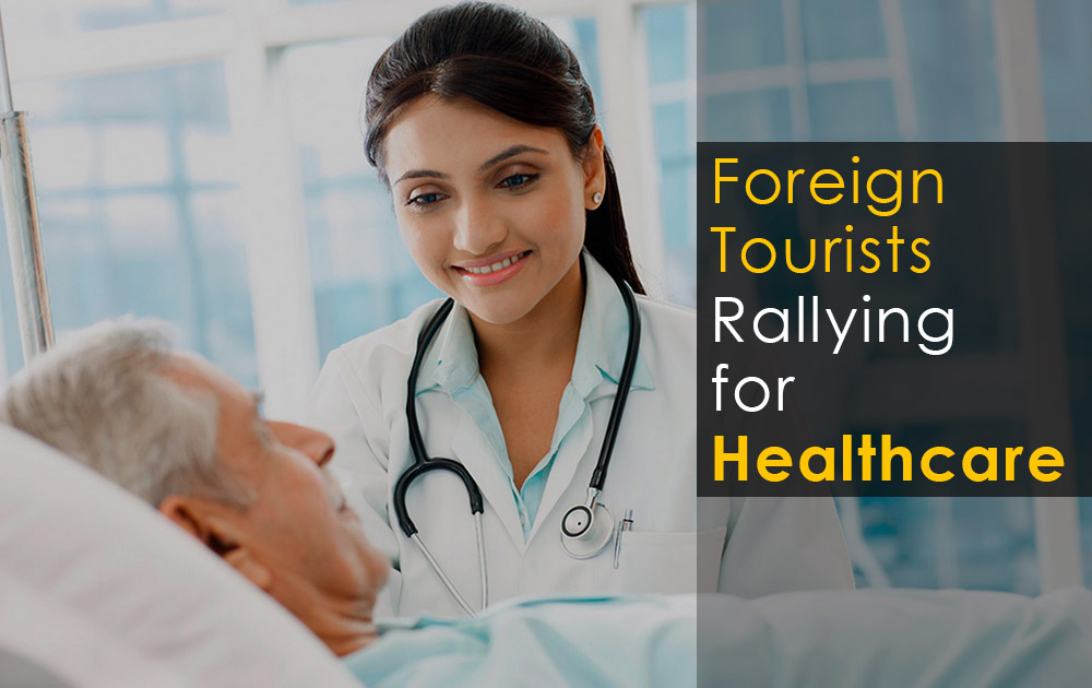 Foreign Tourists Rallying for Healthcare