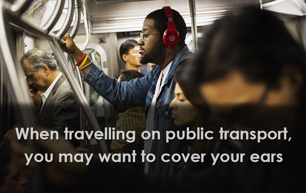 Cover Your Ears on Public Transport