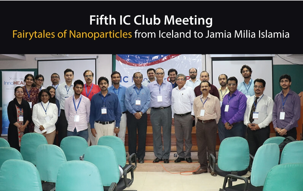 Fairytales of Nanoparticles – IC Club Meeting
