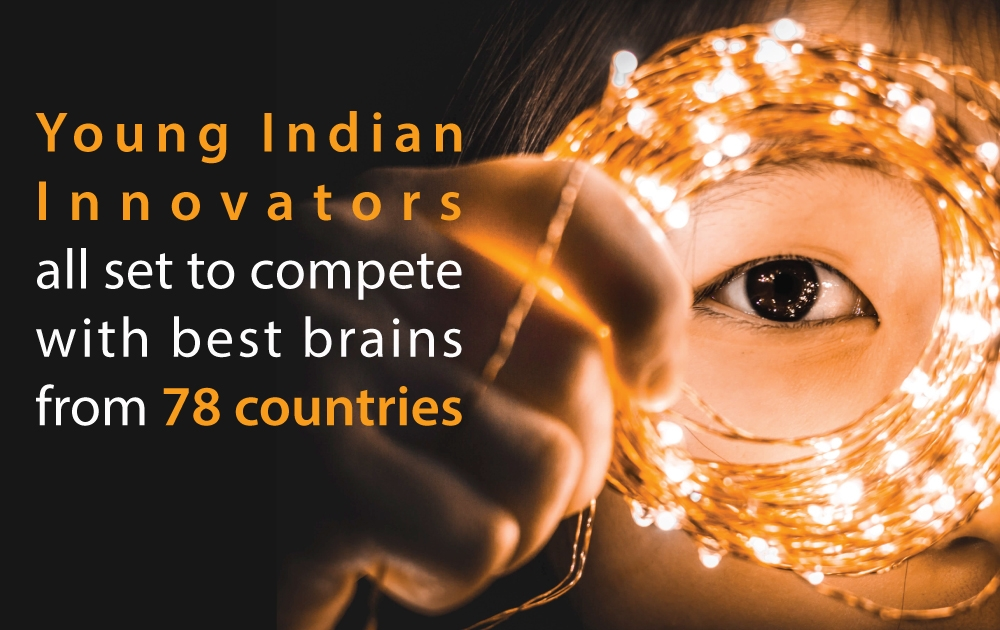 Young Indian Innovators Compete with Best Brains
