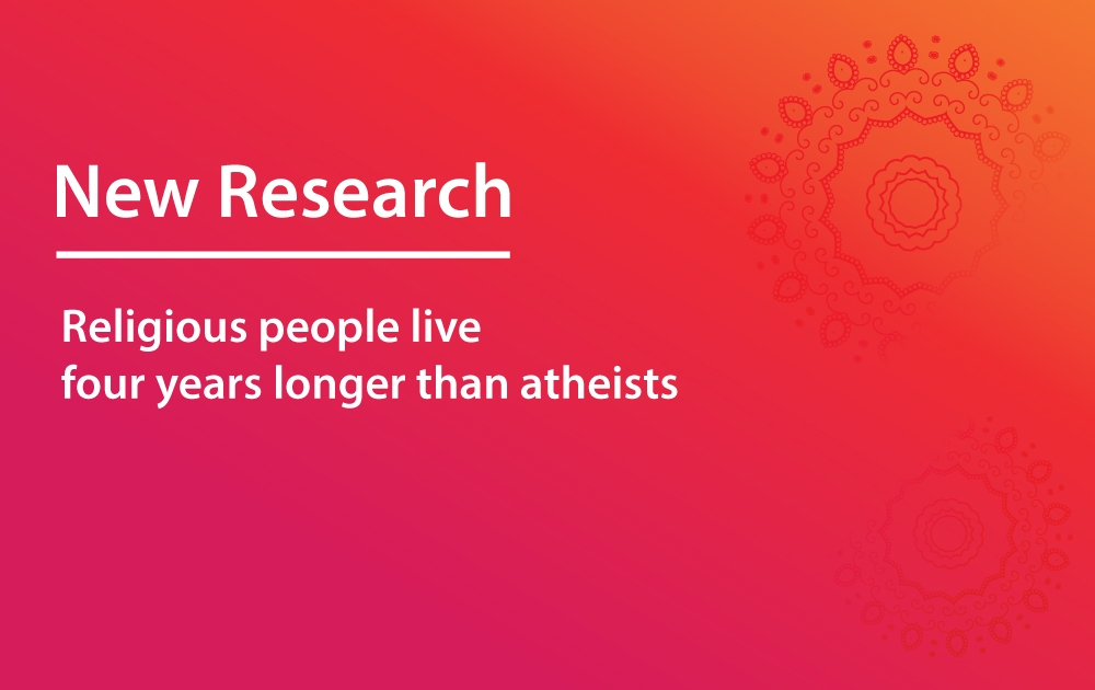 Religious People Live Four Years Longer Than Atheists
