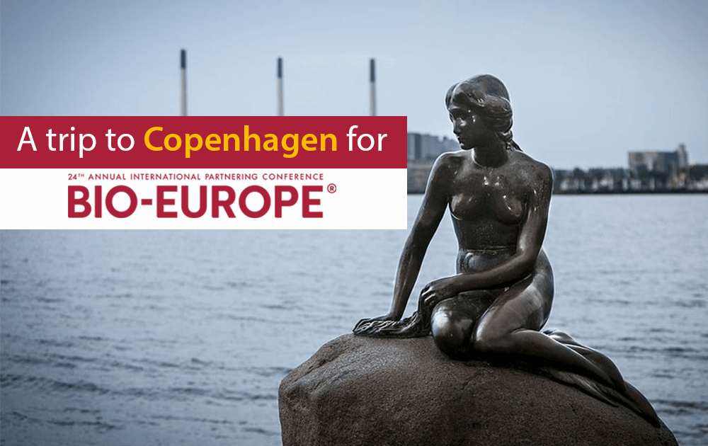 A trip to Copenhagen for Bio-Europe 2018