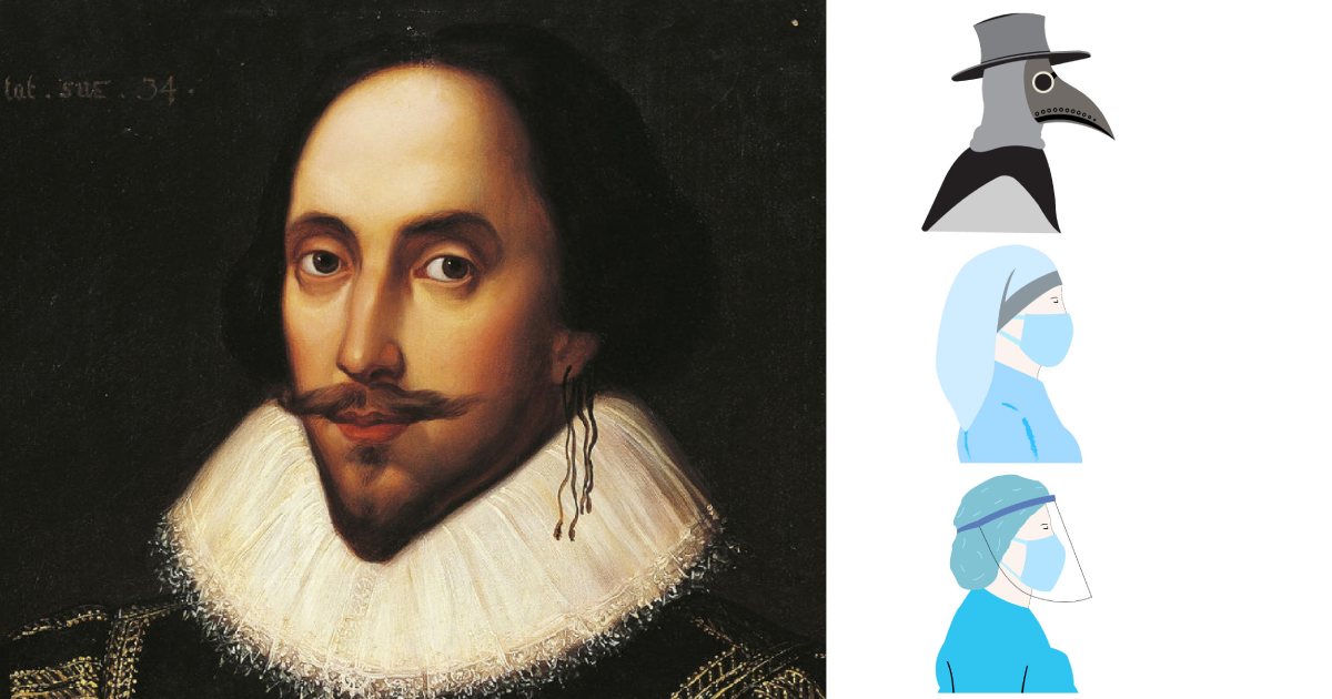 Shakespeare, COVID<br> and the Plague